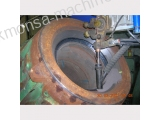 RECONDITION OF CYLINDER COVER WTH SUBMERGED ARC METHOD